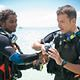 learn to scuba dive Seychelles