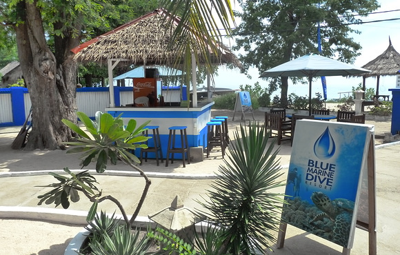 dive resort gili air blue marine
