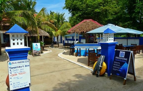 Blue marine dive resort