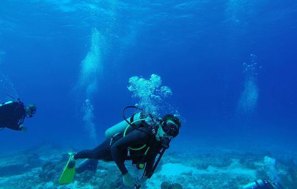 Scuba dive cozumel with blue angel dive shop - Cozumel dive packages ...