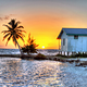 sunset_black_bird_caye_resort_belize