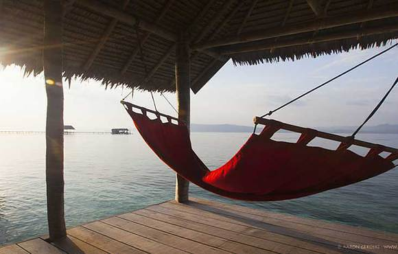 Hammock-on-balcony