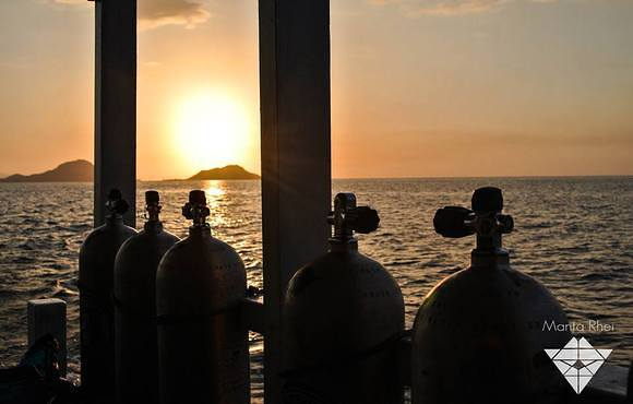 scuba_tanks_in_sunset