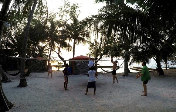 Evening_Volleyball