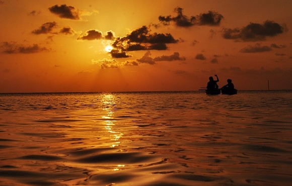 Sunset_and_Kayaking